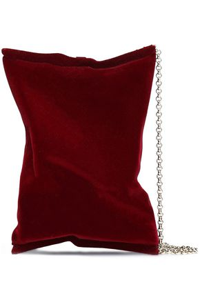 ANYA HINDMARCH Crisp Packet flocked clutch