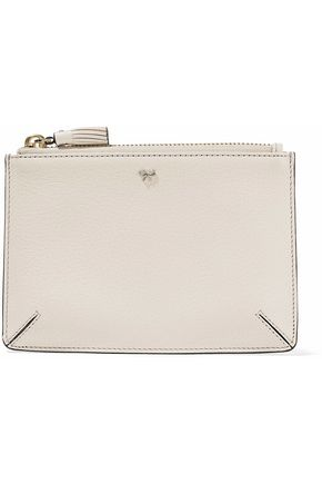 ANYA HINDMARCH Loose Pocket textured-leather pouch