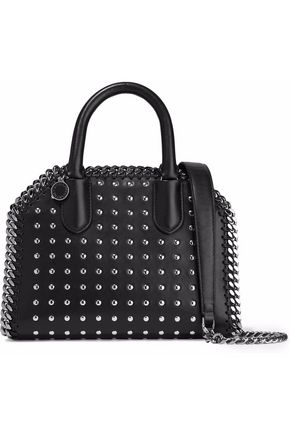 STELLA McCARTNEY Studded faux leather shoulder bag