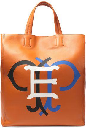 EMILIO PUCCI Printed leather tote