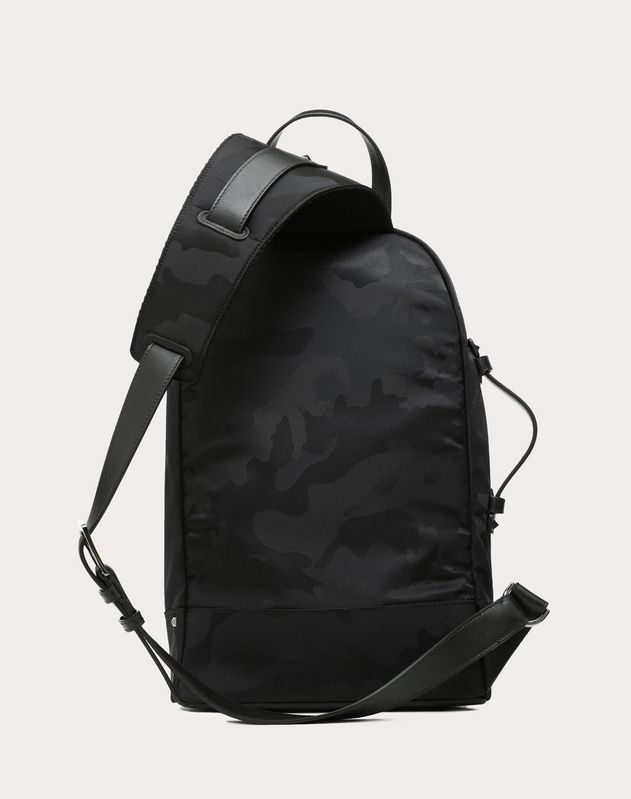 Camouflage One Shoulder Backpack