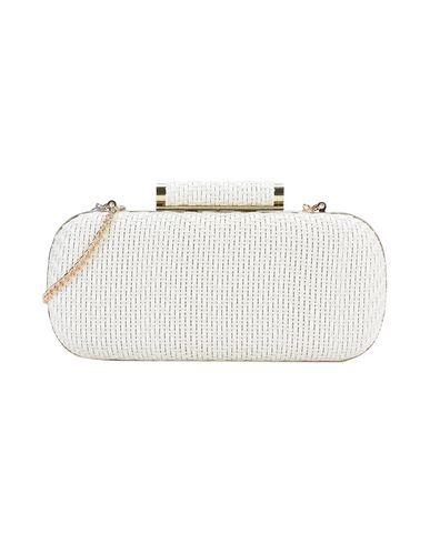 INGE CHRISTOPHER レディース ハンドバッグ ホワイト 紡績繊維 / 金属