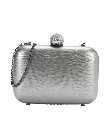 INGE CHRISTOPHER レディース ハンドバッグ 鉛色 紡績繊維 / 金属