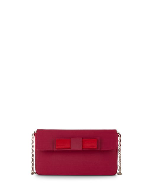 MAGENTA EVENING CLUTCH - Lanvin