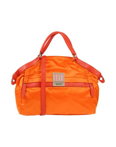 TOSCA BLU レディース ハンドバッグ オレンジ 紡績繊維