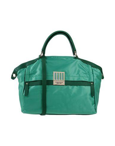 TOSCA BLU レディース ハンドバッグ グリーン 紡績繊維