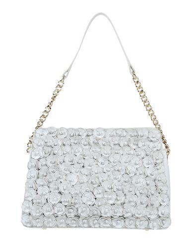 TOSCA BLU レディース ハンドバッグ ホワイト 羊革(ラムスキン) 100%