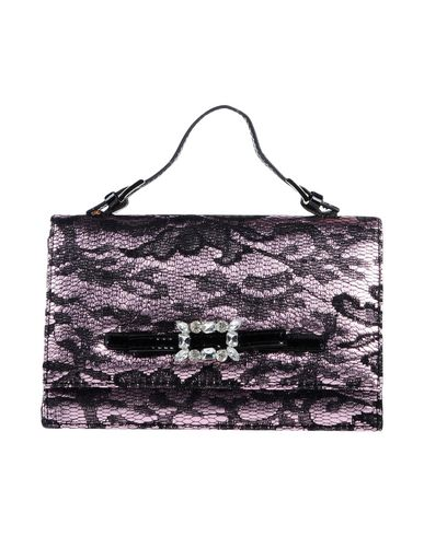 TOSCA BLU レディース ハンドバッグ パープル 紡績繊維