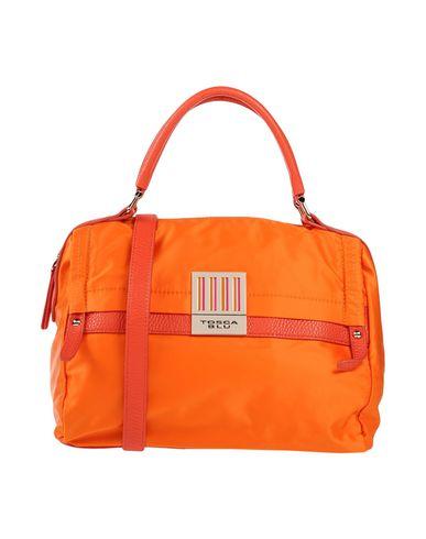 TOSCA BLU レディース ハンドバッグ オレンジ ナイロン 80% / ポリウレタン 20%