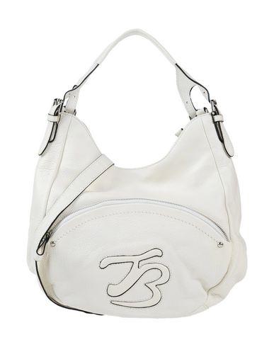TOSCA BLU レディース ハンドバッグ ホワイト 紡績繊維