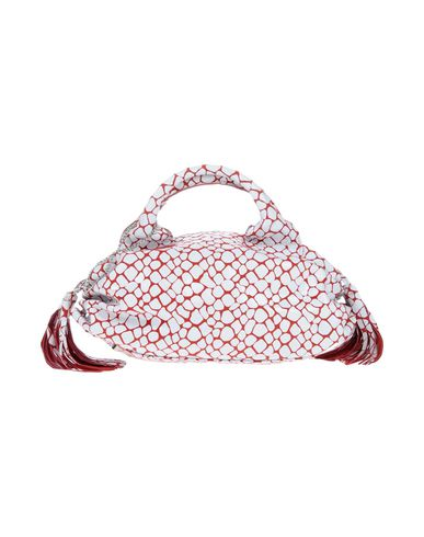 DIBRERA BY PAOLO ZANOLI レディース ハンドバッグ レッド 紡績繊維