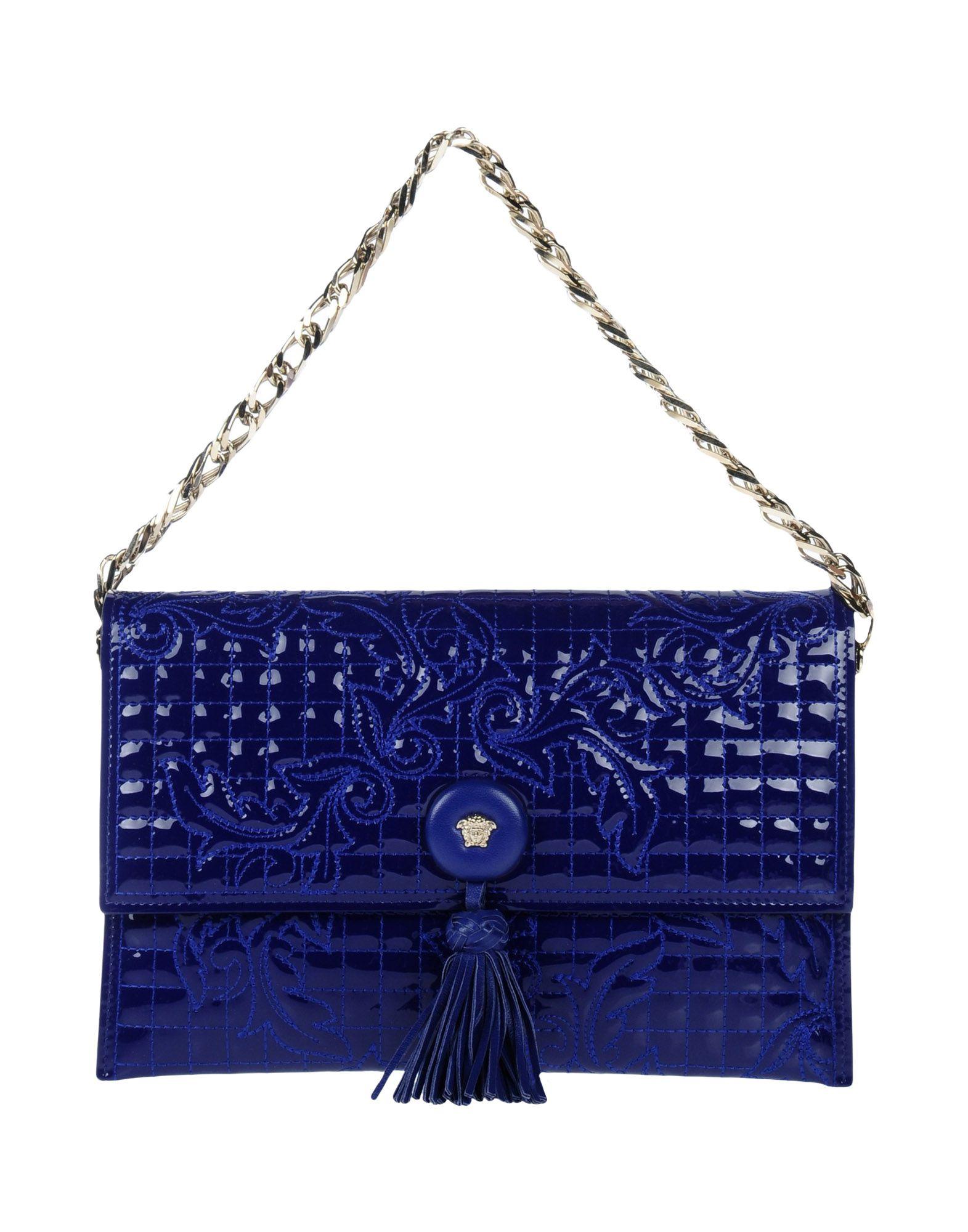 GIANNI VERSACE Handbag in Blue