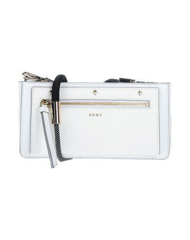 DKNY レディース ハンドバッグ ホワイト 羊革(ラムスキン) / 牛革