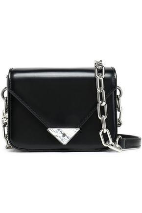 ALEXANDER WANG Glossed-leather shoulder bag