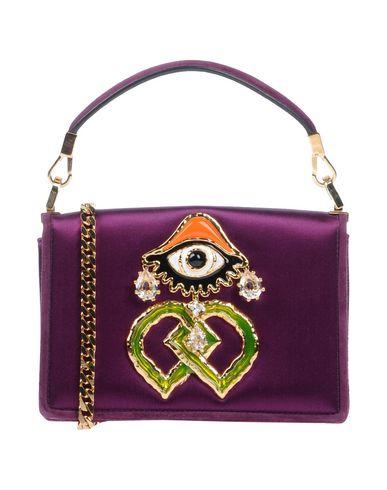 Купить Сумку на руку фиолетового цвета