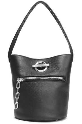 ALEXANDER WANG Riot pebbled-leather bucket bag