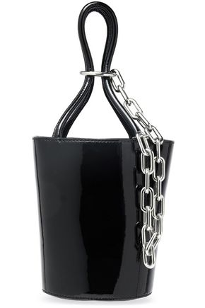 ALEXANDER WANG Patent-leather bucket bag