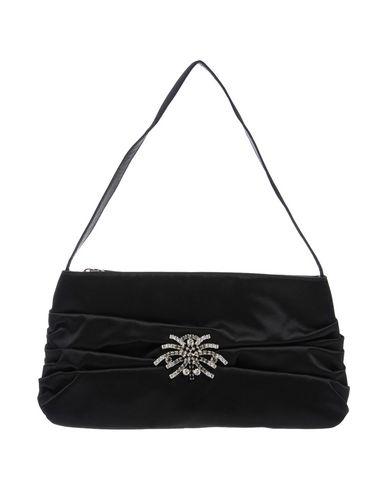 DIBRERA BY PAOLO ZANOLI レディース ハンドバッグ ブラック 紡績繊維