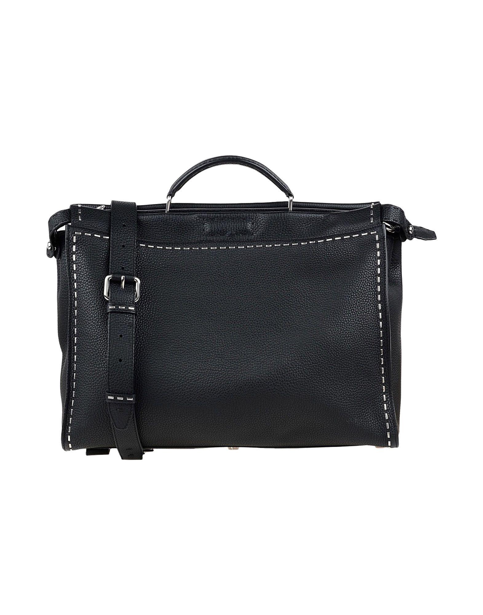 FENDI Деловые сумки fendi кожаный ремень для сумки