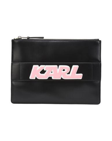 KARL LAGERFELD レディース ハンドバッグ ブラック 牛革 100%