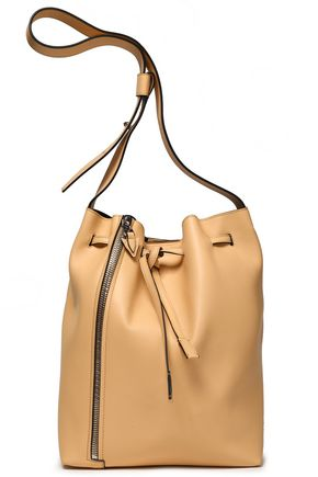 ELENA GHISELLINI Leather bucket bag