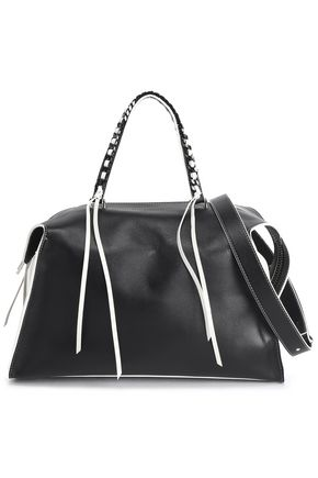 ELENA GHISELLINI Two-tone leather tote