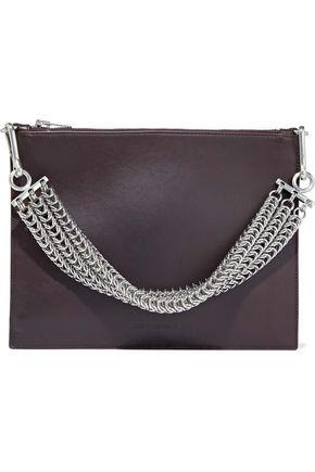 ALEXANDER WANG Chain-embellished leather shoulder bag