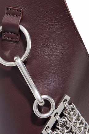ALEXANDER WANG Genesis chain-detailed leather tote