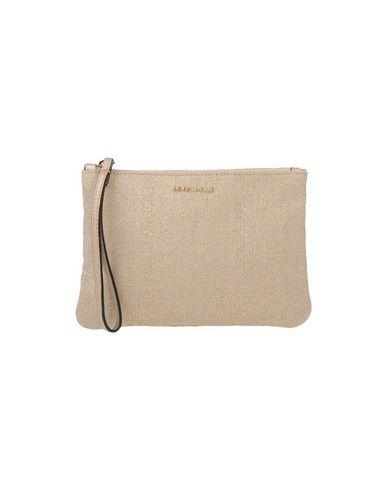 COCCINELLE レディース ハンドバッグ ベージュ 革 / 紡績繊維