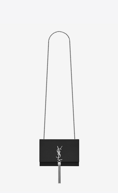 SAINT LAURENT MONOGRAM KATE WITH TASSEL Woman kate small with tassel in smooth leather a_V4