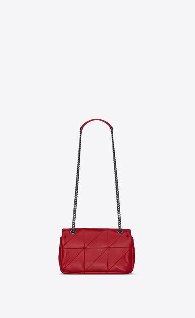 SAINT LAURENT Jamie Donna bag jamie small rossa in pelle patchwork b_V4
