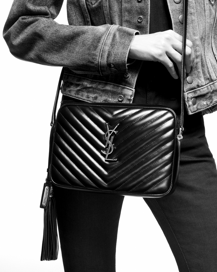 Ysl Lou Camera Bag In Quilted Black Leather Jaguar Clubs