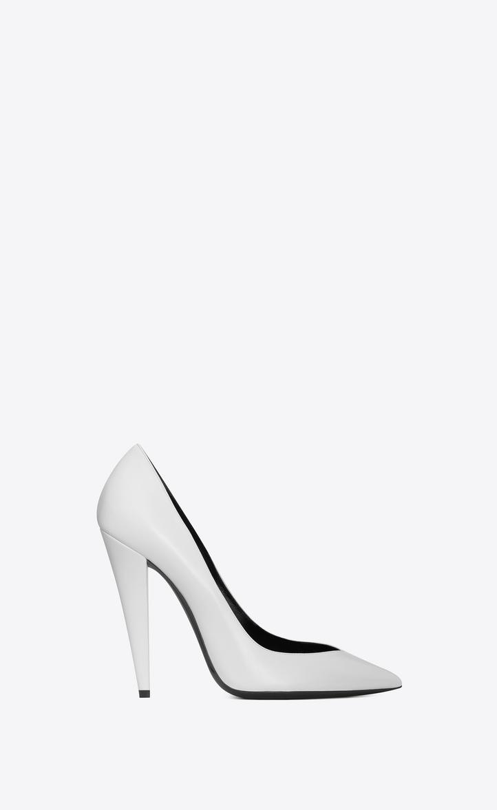 Époque Saint Laurent 85 Pompes - Blanc 8MQnfc