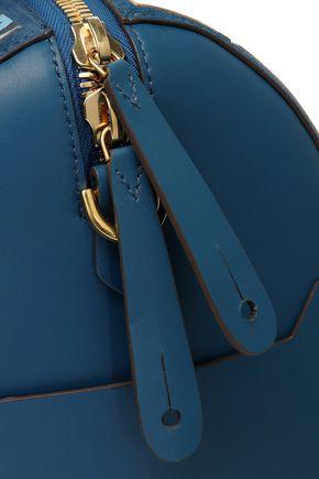 ANYA HINDMARCH Vere Barrel appliquéd printed leather shoulder bag