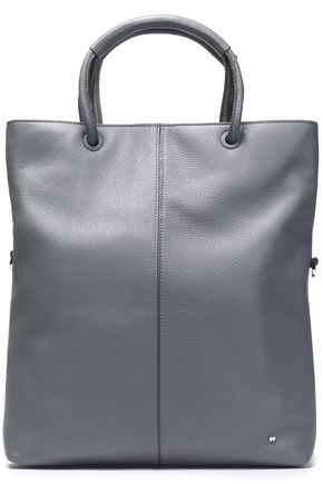 HALSTON HERITAGE Textured-leather tote
