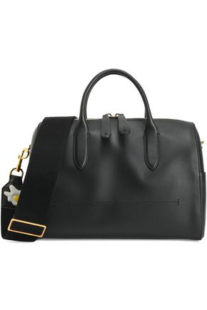 ANYA HINDMARCH Vere Barrel appliquéd leather shoulder bag