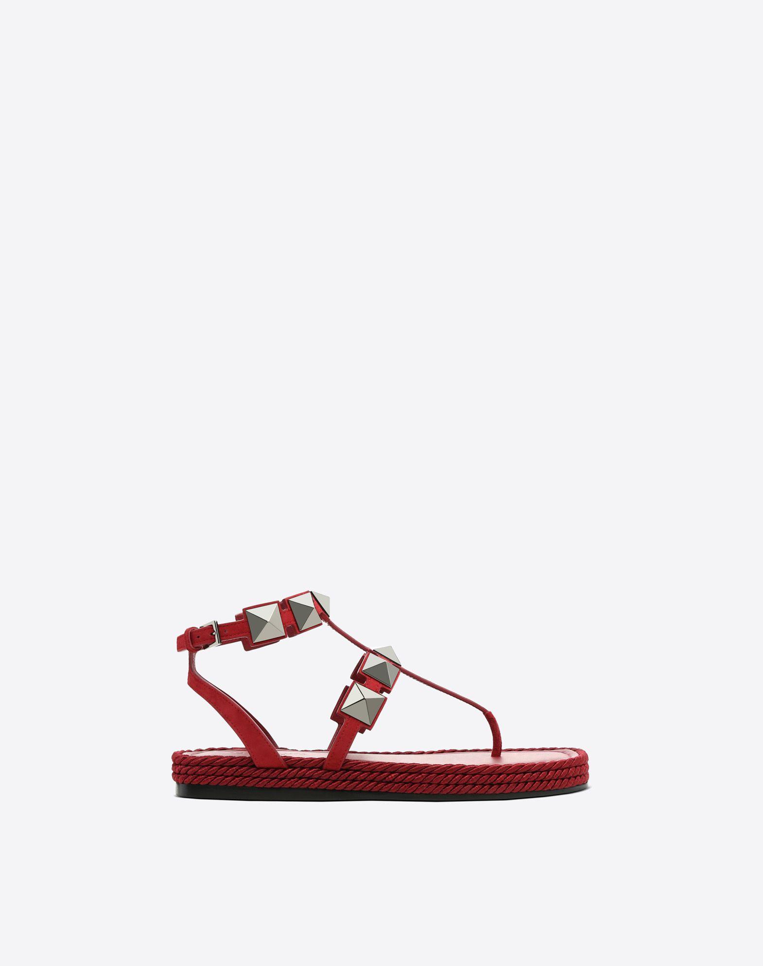 Rockstud flat macro stud sandal