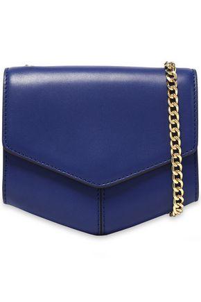 SANDRO Leather shoulder bag