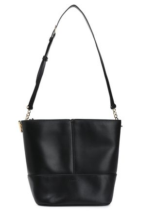SANDRO Leather bucket bag