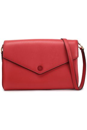 SANDRO Paris Leather shoulder bag