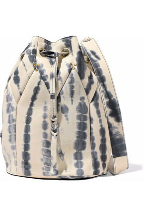 JÉRÔME DREYFUSS Popeye printed leather bucket bag