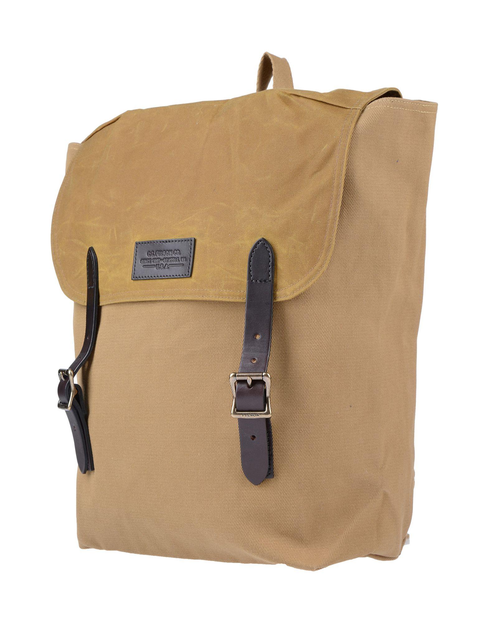 FILSON Рюкзаки и сумки на пояс женские сумки