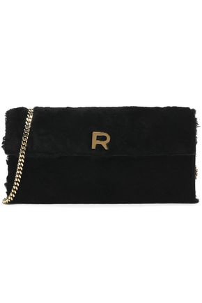 ROCHAS Shearling shoulder bag