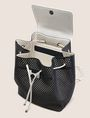ARMANI EXCHANGE MESH PERFORATED BACKPACK Backpack Woman d