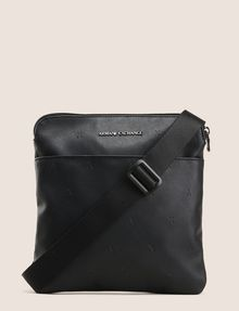 ARMANI EXCHANGE EMBOSSED FAUX-LEATHER CROSSBODY Crossbody bag [*** pickupInStoreShippingNotGuaranteed_info ***] f