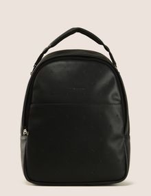 ARMANI EXCHANGE EMBOSSED FAUX-LEATHER BACKPACK Backpack Man f