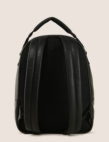 ARMANI EXCHANGE EMBOSSED FAUX-LEATHER BACKPACK Backpack Man r