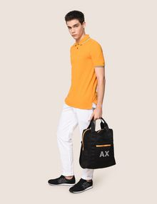 ARMANI EXCHANGE PRINTED MESH TOTE Tote bag Man e