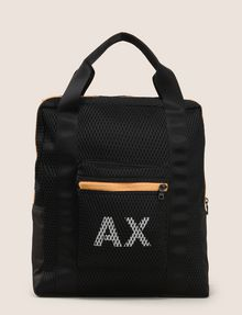 ARMANI EXCHANGE PRINTED MESH TOTE Tote bag Man f