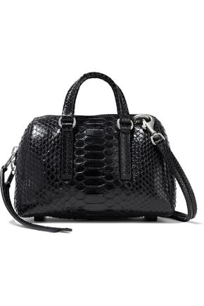 RICK OWENS Python shoulder bag